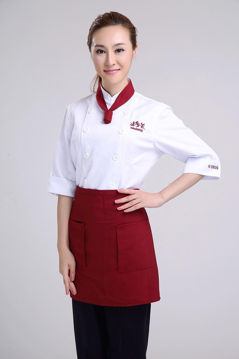 女款厨师服定制|厨师服厂家|万博体育ManBetX网页版|订制|订做